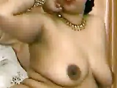 Indian Aunty giving Blowjob and getting Fucked