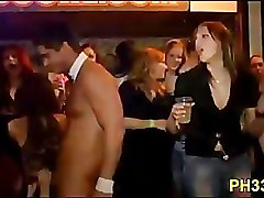 Cheeks in club fucked strip dancer