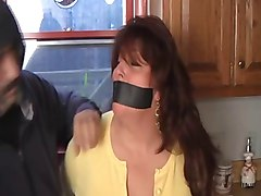 elane grabbed taped and gagged