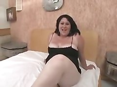 horny bbw anal sex with two bbc