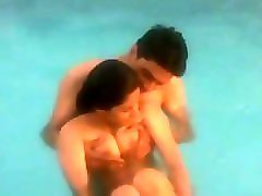 teen indian students playing nude in pool - video clips