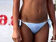 sexy bikini girls candid hd video