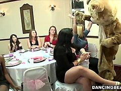blowjob orgy with bride and her friends