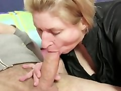xxxomas - slutty amateur german mature in anal threesome - deutsch