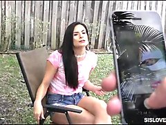 naughty stepsis punished by her stepbro