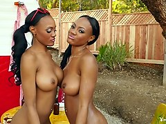 Crazy pornstars Brandi Kelly, Brittany Kelly, Brittany & Brandi Kelly in Horny Outdoor, Softcore xxx video