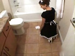 Fucking The Maid In The Bathroom