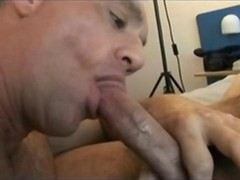 Straight Hunk Getting His Long Cock Sucked In A Motel
